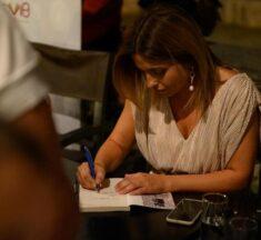 Αρετή Χαρτοφύλακα: Η συγκινητική παρουσίαση του βιβλίου της «Αληθινές γυναίκες» [εικόνες]